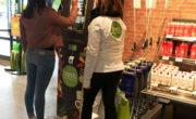 Borne interactive digitale jeu concours pour Fresh avec NON STOP MEDIA Rhône Alpes