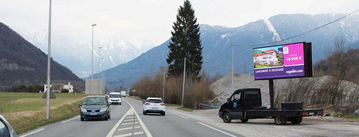 AffiLed pour Cogedim avec NON STOP MEDIA Rhône Alpes