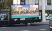 camion LED et distribution street marketing pour Diagonale avec NON STOP MEDIA Rhone Alpes