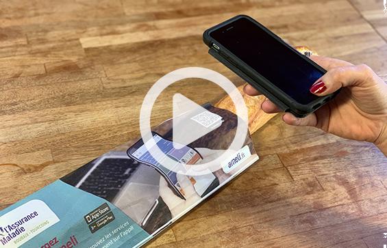 Le sac a pain digital - publicité sur support tactique - Affi Pain by Keemia