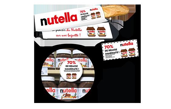 Offre trade marketing en boulangerie du sac à pain publicitaire