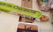 Les grottes de Choranche sur Sacs a baguette publicitaires - Média tactique - Affi Pain by Keemia