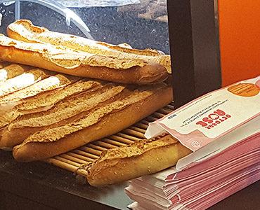Des sacs à pain pour la CPAM