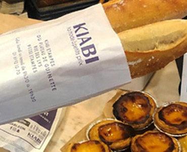 Kiabi communique en sac à pain !